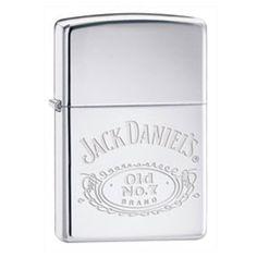 Engraved Jack Daniels Zippo Lighter - £26.99