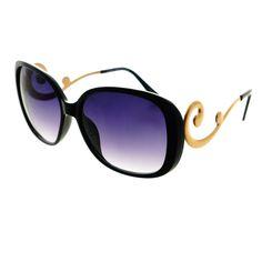 ead9c71fb8 Swirl Arm Designer Style Womens Oversized Large Sunglasses O54