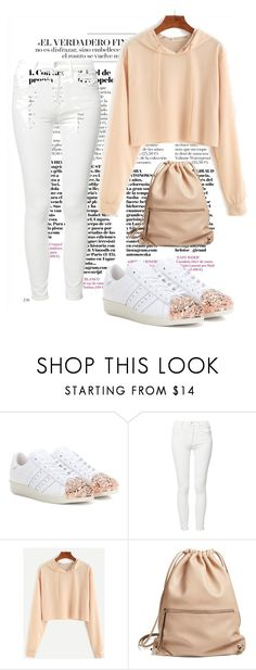 """""""Untitled #93"""" by christinaioana ❤ liked on Polyvore featuring adidas Originals, Mother and Phase 3"""