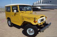 Mustard Yellow Fj40 Toyota Landcruiser Hardtop - Restored Icon