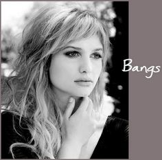 Love the short side bangs! It's how I want my bangs to go.