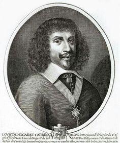 LOUIS DEVNOGARET DE LA VALETTE (1604/1678)