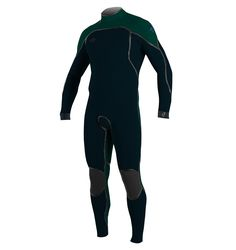 ONeill Mens Psycho One 3 2 mm Back Zip Full Wetsuit Slate Reef Large 8b25f5a4c