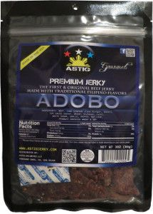Discover how Astig Premium Jerky - Adobo beef jerky fared in a jerky review http://jerkyingredients.com/2014/09/01/astig-premium-jerky-adobo-beef-jerky/  #beefjerky #reviews #food #jerky #ingredients