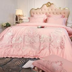 Cheap Bedding Sets, Cotton Bedding Sets, Duvet Bedding Sets, Linen Bedding, Bed Linen, Diy Room Decor Videos, European Fashion, European Style, Egyptian Cotton Bedding
