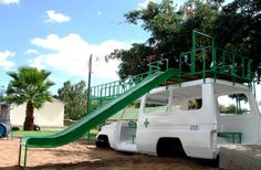 Re-purposed Ambulance in Malawi