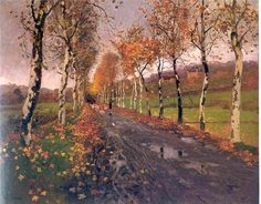 Fritz Thaulow - The Road
