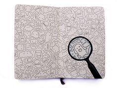 My Sketchbook by Zlatina Gocheva, via Behance