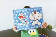 Doraemon Cartoon Leder Flip Schutz Case für ipad 2/3/4, ipad mini 1/2/3, ipad air 1/2 - Prima-Module.Com