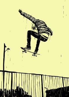 """ffffixas: """" instagram @adamscarvalho """" Skating"""