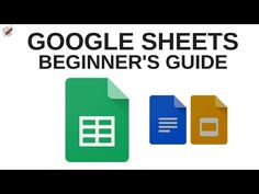 Google Sheets Tutorial - YouTube