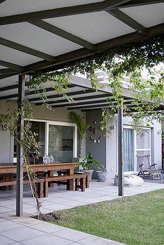 Pergola Ideas For Patio Casa Patio, Pergola Patio, Pergola Kits, Pergola Plans, Pergola Ideas, Ponds Backyard, Backyard Patio, Backyard Landscaping, Patio Design