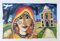 Watercolour India new Delhi 2018 Pieter Cronje Watercolour, Faces, India, Painting, Art, Pen And Wash, Art Background, Watercolor Painting, Goa India