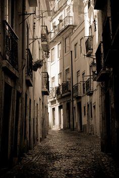 Alfama street ii by vlad-m.deviantart.com on @deviantART