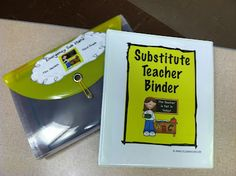 Teaching With Style!: Emergency Sub Plans - totally using some of these ideas as I put my sub binder together!