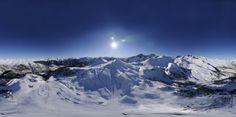 """Serre Chevalier Vallée, domaine skiable de """"Serre Che"""" a beaucoup à offrir en matière de slow tourisme à la neige ou de grand sport pour les fans de glisse."""