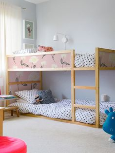 IKEA KURA BED removable stickers orange and leafs Ikea nursery decals Furniture stickers Furniture decals set Kids decor - Kid beds, Ikea bunk bed, Ikea kura bed, - Modern Bunk Beds, Cool Bunk Beds, Kids Bunk Beds, Ikea Kids Bed, Ikea Toddler Bed, Loft Beds, Bunk Bed Decor, Kura Cama Ikea, Cama Murphy Ikea