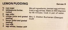Lemon Dessert Recipes, Orange Juice, Baking, Bakken, Backen, Sweets, Pastries, Roast