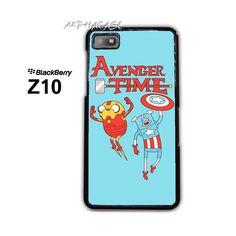 Adventure Time Avengers BB BlackBerry Z10 Z 10 Case