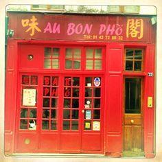 Au Bon Phô | rue au Maire Paris 3e --- cantine vieto-thaïe --- pour la bouffe pas pour le cadre !