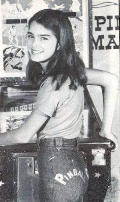 Brooke Shields, 1970s.