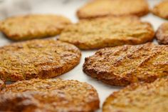 LCHF fladbrød til burgere, sandwich, wraps mm