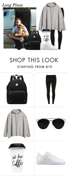 """""""Long Plane Rides w/Niall"""" by foreveryoungonedirection ❤ liked on Polyvore featuring Dorothy Perkins, H&M and NIKE"""