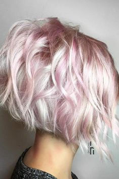 Pastel Pink And Blonde Hair Pastel Ombre Long Bob Blondes Hair