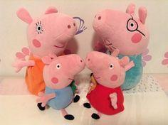 Compre os bonecos da Peppa e família Pig no Brasil! Saiba como: http://www.mildicasdemae.com.br/2014/05/compre-a-peppa-e-familia-pig-no-brasil.html
