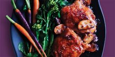 Braised Chicken with Chinese Broccoli