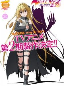 'To Love-Ru -Trouble- Darkness 2nd' Anime Premiere Date Set | The Fandom Post