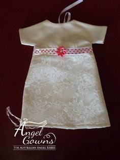 Best Angel Gowns for Australian Angel Babies To donate or request a gown An organisation converting donated wedding dresses into gowns for babies who are taken