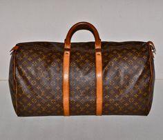 Make an Offer LOUIS VUITTON Keepall 55 Duffel Bag by louise49, $535.00