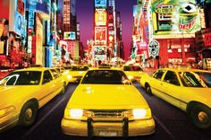 Time Square - Taxi by Maxi