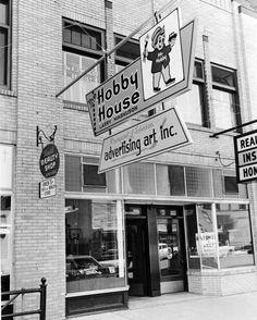 Hobby House sign Bismarck North Dakota