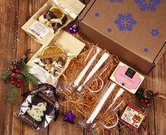 """Подарочный набор в коробке """"Рождественская метель"""" (Премиум) - Бутик Боффо"""