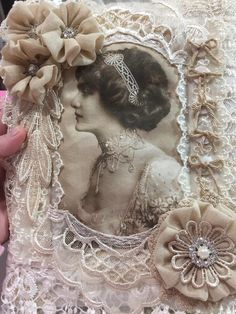 Shabby Chic Altered Notebook