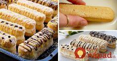 Tento dezert je vynikajúci v tom, že na krém môžete použiť prakticky čokoľvek, čo doma nájdete – kyslú smotanu, tvaroh, mascarpone alebo kondenzované mlieko. Stačí zlepiť piškóty, obaliť a perfektné sladké pohostenie je na svete!
