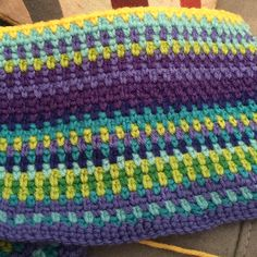 My temperature blanket up to January 30th. I have one more yellow row to add for…