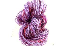 Handspun Mohair Art Yarn 70 yards 2 ply  Goddess by ladypainswick, $32.00