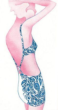 Illustration by Philip Castle, 1968.