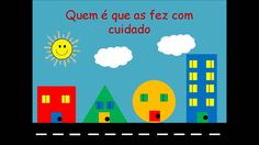 Formas geométricas - Rua das formas (Nova versão) Pre School, About Me Blog, Shapes, Youtube, Videos, Toddler Learning Activities, Geometric Form, Songs For Children, Lesson Plans For Elementary