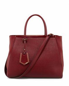 2Jours Medium Tote Bag, Scarlet by Fendi at Neiman Marcus. $2350