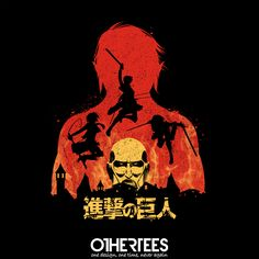"""""""Kill Them All"""" by TomTrager T-shirts, Tank Tops, Sweatshirts and Hoodies are on sale until 6th November at www.OtherTees.com Pin it for a chance at a FREE TEE #attackontitan #anime #manga #othertees #ShingekinoKyojin"""