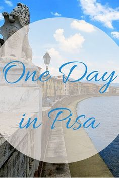 Pisa is one of my favourite cities. Here's what to see, do and eat in one day in Pisa.