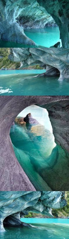 Chile  ,marble caves  chile - My Creator is an amazing and wonderful Creator.