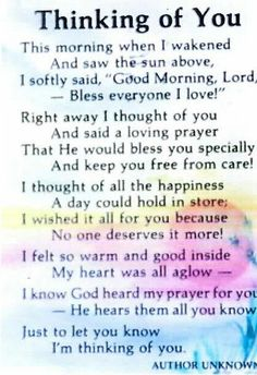Prayer for a friend poem namesandthingszone vickie pinterest always in my thoughts thecheapjerseys Choice Image