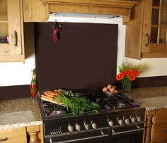 #kitchens #kitchenaccessories #kitchendesign #splashback #brown Coloured Glass Splashbacks, Stylish Kitchen, Glass Kitchen, Colored Glass, Kitchen Accessories, Color Pop, Kitchen Design, Splashback Ideas, Outdoor Decor
