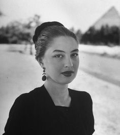 Camelia or Liliane Levy Cohen, the most famous Egyptian actress during the 40's. Some people said that she was in a relationship with King Farouk and when they broke up, she had tried to commit suicide before she died in a mysterious plane accident at the end of the summer of 1950