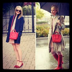 Opt for the Broadway Dress, rain or shine.  Image Via: Atlantic-Pacific